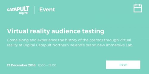 Virtual Reality Audience Testing by Digital Catapult