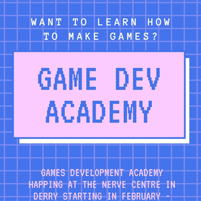 Applications for Games Development Academynow open