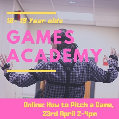 Games Development Academy Taster Sessions with Nerve Belfast