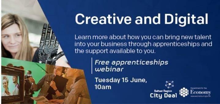Apprenticeships in the creative & digital sectors
